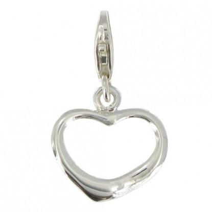 Charms Bracelet Mon Coeur - Argent 925