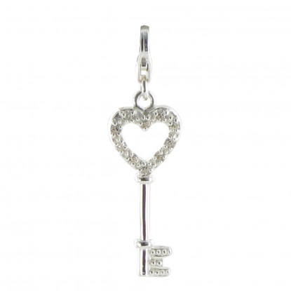 Charms Bracelet Clef des Songes - Argent 925