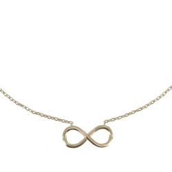 Collier Infini Plaqué Or