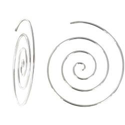 Boucles d'Oreilles Argent 925 Escargot