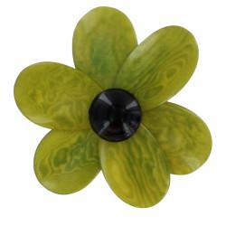 Broche Fleur en Tagua