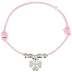 Bracelet Lien Trèfle Argent - Classics