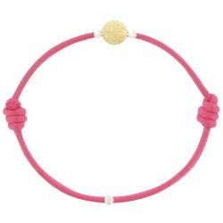 Bracelet La Perle en Or 18 K Diamantée des Poulettes Colors