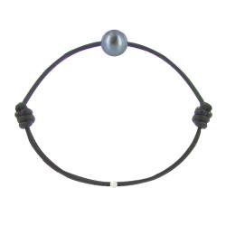 Bracelet La Perle de Culture Noire des Poulettes - Classics