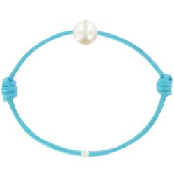 Bracelet La Perle de Culture Blanche des Poulettes - Colors