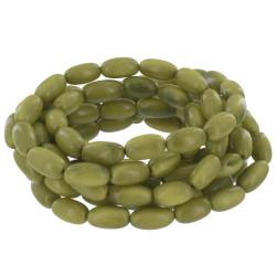 Collier ou Bracelet Elastique Graines de Tagua Verte