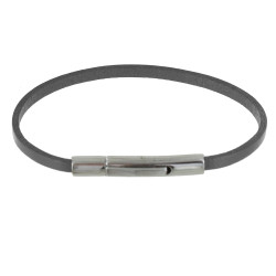 Bracelet Femme Cuir Simple Fermoir Acier Inoxydable - Colors