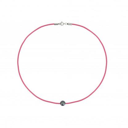 Collier La Perle Noire des Poulettes - Colors
