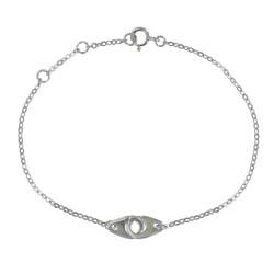 Bracelet Argent Petites Menottes