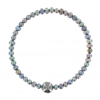 Bracelet Anneau de Perles de Culture - Classics