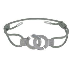 Bracelet Lien Argent Menottes - Classics