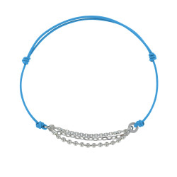 Bracelet Lien Argent Trois Chaînettes - Classics