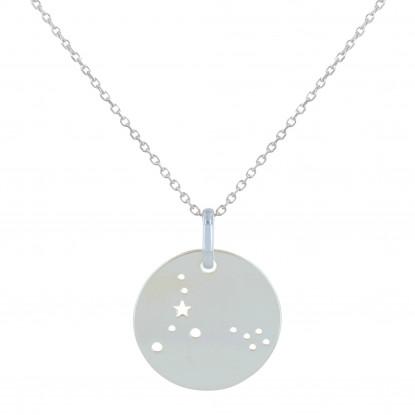Collier Argent Constellation Poisson