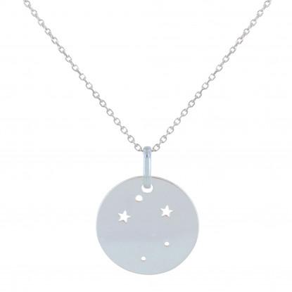 Collier Argent Constellation Balance