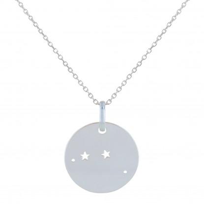 Collier Argent Constellation Bélier
