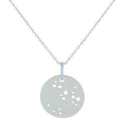 Collier en Argent Zodiaque Constellation Sagittaire