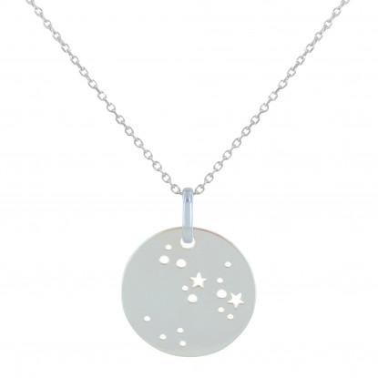 Collier Argent Constellation Sagittaire