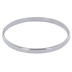Bracelet Argent Jonc Plat