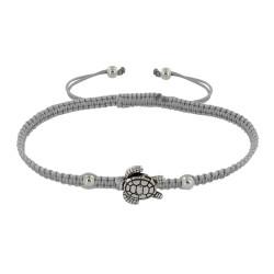 Bracelet Métal Tortue Lien Tréssé - Classics