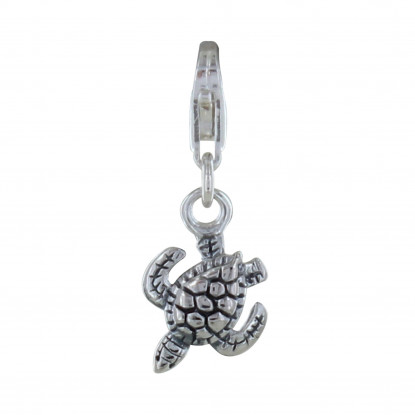 Charms Bracelet Tortue des Galapagos - Argent 925