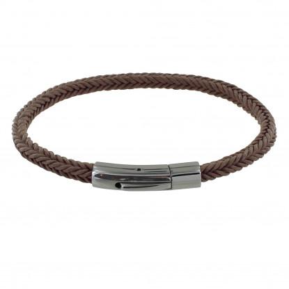 Bracelet Homme Tresse en Coton Carré Simple