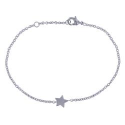 Bracelet Argent Petite Etoile