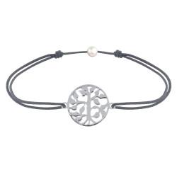 Bracelet Lien Arbre de Vie Argent