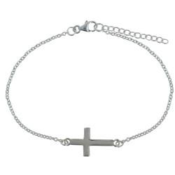 Bracelet Argent Croix