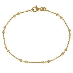 Bracelet Plaqué Or et Billes