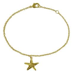 Bracelet Plaqué Or Etoile de Mer