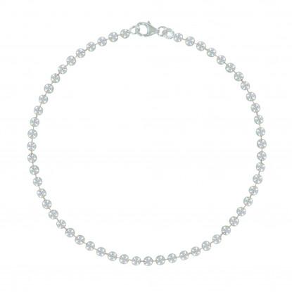 Bracelet Argent Petites Perles