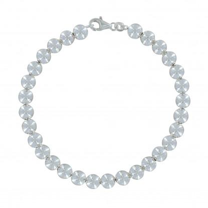Bracelet Argent Grosses Perles