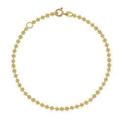 Bracelet Plaqué Or Petites Perles