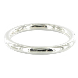 Bracelet Argent Jonc Taille Moyenne Diam. 6,3cm