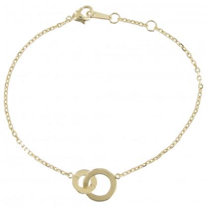 bijoux fantaisie double anneau