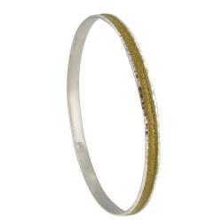 Bracelet Argent Paillettes - Classics